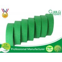 """China Green Crepe Paper Easy Release Painters Color Masking Tape 60 Yds Length X 1"""" Width wholesale"""