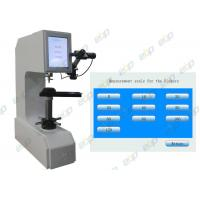 Buy cheap Brinell Rockwell Vickers Universal Hardness Testing Machine With 37.5X 75X Magnification product