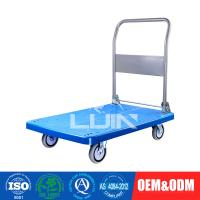 China 200 - 250Kg Loading Platform Hand Trolley / flatbed hand truck on sale