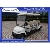 Quality Free Maintain  Battery Electric Golf Club Cart 48 Voltage With PC Windshield for sale