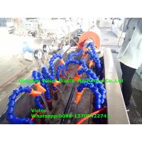Buy cheap Italy Running Hydraulic Hose Protective Sheath PE Spiral Wrapping Band Production Line from wholesalers