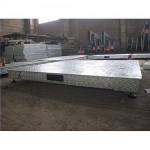 Buy cheap escala de plataforma galvanizada product