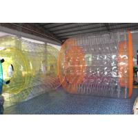 Buy cheap Clear PVC Inflatable Water Games / Transparent Inflatable Rolling Tube product