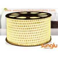 China 2835 180D Waterproof LED Rope Lights Double Rows Warm White LED Rope Lamp on sale