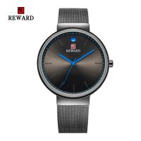Quality Quartz Movement Mens Stainless Steel Watches Alloy Case 3 Atm Water Resistant for sale