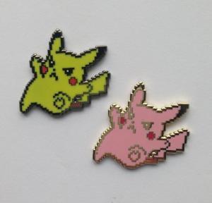 Buy cheap Lovely Pokemon Pikachu Hard Enamel Pin Badge For Children Gifts Handmade product