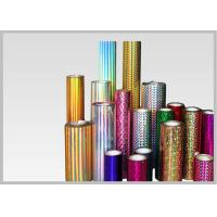 Buy cheap Transparent Holographic Lamination Film Multiple Extrusion , Width 300-1300mm product