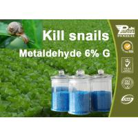 Buy cheap 108-62-3 Metaldehyde 6% G Pesticides For Agriculture Control Of Slugs And Snails product