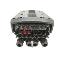 Buy cheap PP Black 3M Fiber Cable Joint Box 96 Cores 24 Ports For FTTH Pole Mount from wholesalers