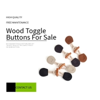 Buy cheap Dual Hole 14L Wooden Toggle Buttons For Overcoat product