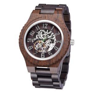 Buy cheap Natural Wood Men Women Mechanical Watch Custom Logo Rohs CE product
