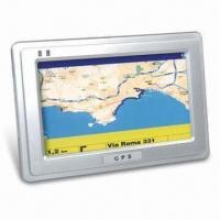 Buy cheap Portable GPS with 4.3-inch Samsung Super Hi-clear Digital Touching TFT LCD, from wholesalers