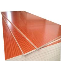 China Compact Struture Melamine Faced MDF Board 730kg/M³ Density With Mixed Core on sale
