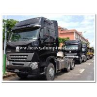China 6x4 HOWO A7  Heavy duty Tractor/ prime mover truck for pulling container tipper trailer on sale