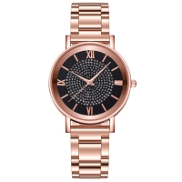 Buy cheap 2035 Miyota Quartz Female Watches Rainstone Stainless Steel Index Dial product