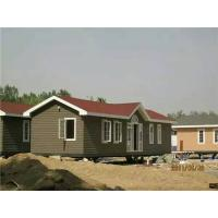 Buy cheap Eco - Friendly External Brown WPC House With High Impact Resistant product