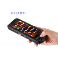 China Tempered Glass Handheld RFID Reader Pos Terminal BH86 CE ROHS Approved on sale