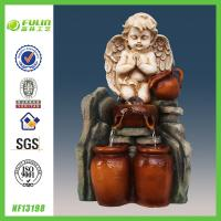 Buy cheap Religious Tabletop Angel Water Fountain Indoor product
