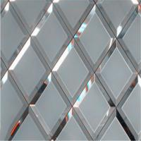 Buy cheap Silver mirror Mirror Wall Decor glass can prettify the room product