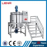 Buy cheap 500L Stainless Steel Liquid Hand Soap Making Mixing Tank Machine product