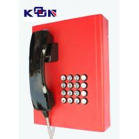 Buy cheap Railway Red Emergency Phone Auto Dial Wearable Vandal Resistant product
