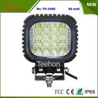China Back Cover Replacable 48W LED Work Light Made of Genuine CREE LED Chips wholesale