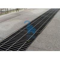 Buy cheap Rectangular Floor Sink Grate Trench Drain Covers Stainless Steel Material product