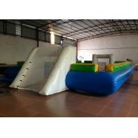 Buy cheap Waterproof PVC fabric Inflatable football Soccer Field Big Party Inflatable Soccer pitch for ball game product