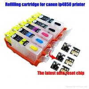 Buy cheap Cartucho de tinta recargable con el microprocesador auto del reset para la última impresora del canon product