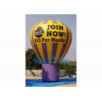 Buy cheap Outdoor Inflatable Grand Advertising Ground Balloon For Advertisement / Parties product