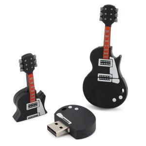 Noircissez le bâton fait sur commandeUSB de mémoire d'USB de guitare de 16 yoles 3,0 50 x 20 x 15 millimètres