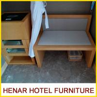 China Modern Commercial Hotel Furniture Packages / Beech Wooden Luggage Rack on sale