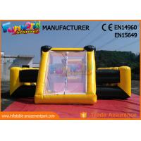 Buy cheap Waterproof PVC Tarpaulin Inflatable Sports Games / Inflatable Soap Soccer Field product