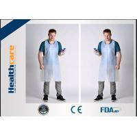 Buy cheap FDA CE Disposable Patient Bibs And Underpads Medical Colored LDPE HDPE Apron product