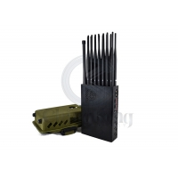Buy cheap LOJACK GSM Handheld 16 Bands 5G Cell Phone Jammer product