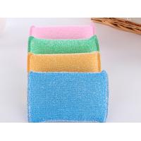 Buy cheap Eco Friendly Non Abrasive Cleaning Pads Strong Water Absorption With Plastic Thread product