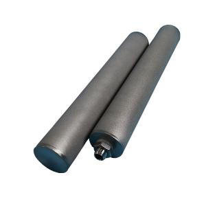 Buy cheap Custom Size Pneumatic Sintered Bronze Filter For Manufacturing Plant product