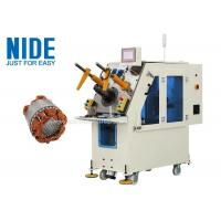 Buy cheap Generator motor automatic stator coil inserting machine Single working station product