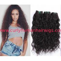 China Customized Brazilian Curly Human Hair Weave for Black Women wholesale
