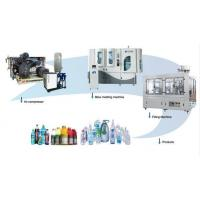 Buy cheap Fully Automatic Rotary Blow Molding Machine Small Space Electric Motor product
