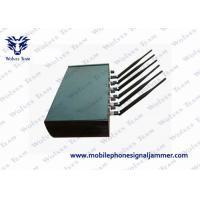 Buy cheap Adjustable High Power 6 Antenna WiFi GPS GSM CDMA Cell Phone signal Jammer product
