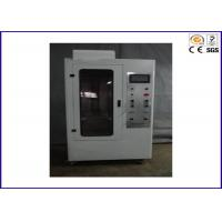 China 90 / 45 Degree Flammability Tester , Flame Retardant Test For Hard Casing on sale