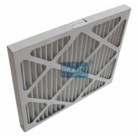 Buy cheap Galvanized Prime High Flow Air Filter Non Woven Cloth Filter Media 95% Efficiency product