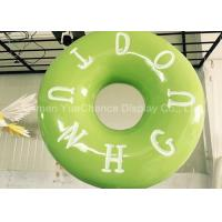 Buy cheap Hand Carved Shop Display Christmas Decorations Promotional Big Size Fiberglass Donuts product