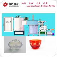 Buy cheap Color Wine Glass Vintage Vacuum Metallization Equipment Thermal Evaporation Coating Glass Products product