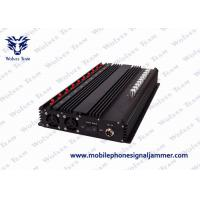 China All GSM CDMA Mobile Phone Signal Jammer 50 - 60Hz Power Supply Easy Operation on sale