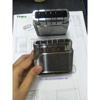 Buy cheap Precision 1.2343 Steel  Injection Mold Components Cavity Inserts With Cavity No Text Mark from wholesalers