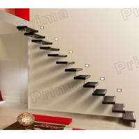 Buy cheap Floating Solid Wood Straight Stairs product