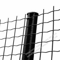 Buy cheap Electro Galvanised Wire Mesh Panels Green Powder Coating With Barb Top product