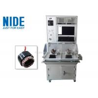 Buy cheap Nide Double Stations Motor Testing Equipment For Testing Stator Working product